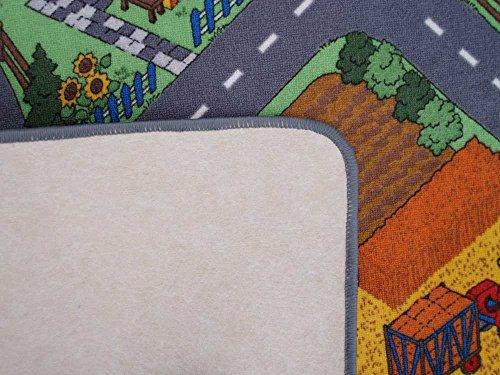 Spielteppich Bauernhof Textilrücken