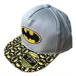 Gorra de Batman para niño gris