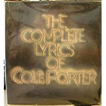 The Complete Lyrics of Cole Porter by Robert Kimball (1983-10-12)