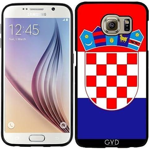 Funda de silicona para Samsung Galaxy S6 (SM-G920) - La Bandera De Croacia by BruceStanfieldArtist