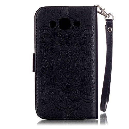 Linvei iPhone 6 Case 4.7 (Zoll)- Protective Case Wallet Cover Leder Tasche für iPhone 6 Case -Schutzhülle in Baby Pink Schwarz