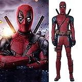 Déguisement Adulte, Cosplay Deadpool Body Costume Vêtements De Noël Halloween Déguisements pour Adult Wear L