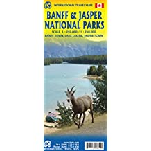 International Travel Map Banff & Japser National Park 1:240 000