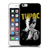Head Case Designs Offizielle Tupac Shakur Golden Kunst Soft Gel Hülle für iPhone 6 Plus/iPhone 6s Plus