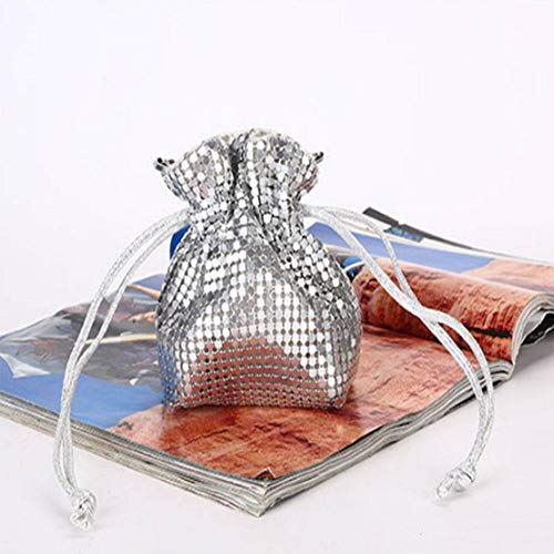 DUQA Kreative Absatz rein manuelle Aluminium - Dinner Pailletten gl¨¹cklicher Sack - Tasche - Paket Frauen ?ndern -