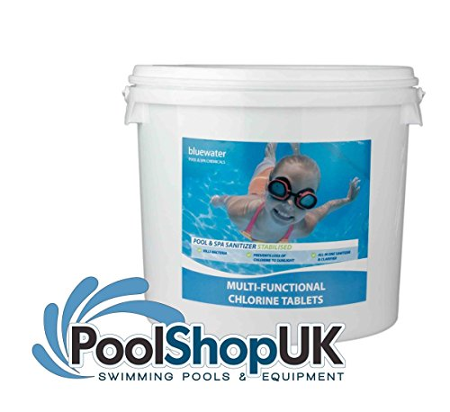 Swimming Pool & Spa 2kg Multifunctional Chlorine Tablets 200g