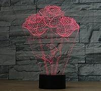 3D Incredibile Optical Illusion Fare ogni stanza della vostra casa un po 'più interessante con l'effetto illusorio della lampada 3D incandescenza LED! Tecniche artigianali La lampada 3D incandescenza LED è prodotto con una combinazione di tecniche di...