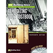 Remodeling 2003 Costbook (Remodeling Costbook)