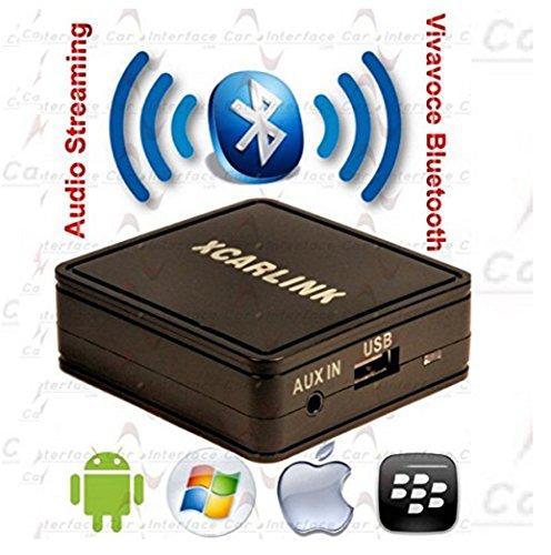 G.M. Production–XCarLink BT Continental Fiat–Interfaz XCarLink Streaming Bluetooth audiostreaming Fiat Panda del...