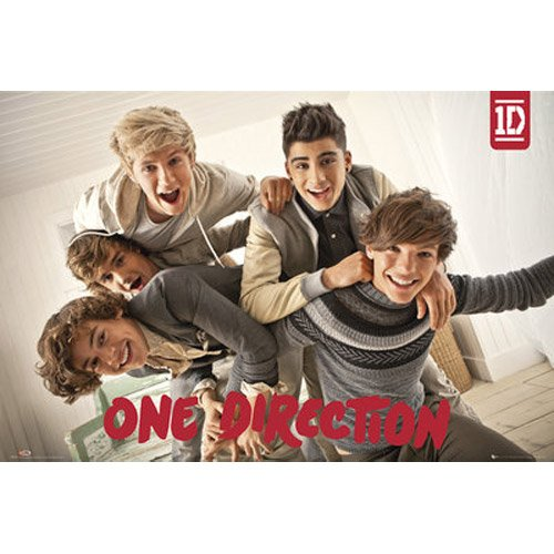 One Direction-Group Poster, 92x61 (Night Up All Poster One Direction)
