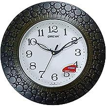 Ajanta Oreva Vintage Wall Clock (30cm x 30cm) (Red Wood)