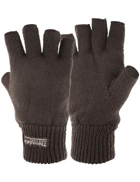 Highlander Stayner - Guantes cortos térmicos negro negro Talla:large