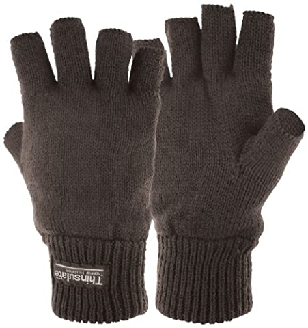 Highlander Stayner Thermal Mitts - Black, Large