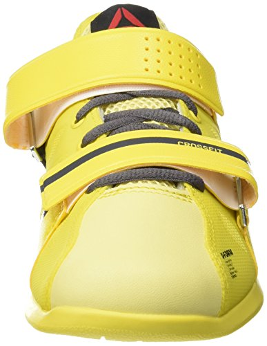 Reebok R Crossfit Lifter Plus2.0, Scarpe da Fitness Donna Multicolore (Amarillo / Gris / Negro (Yellow Spark/Yellow Filament/Ash Grey/Bl))