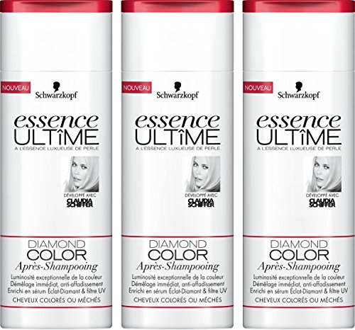 Essence Ultime Après-Shampooing Diamond Color 250 ml - Lot de 3