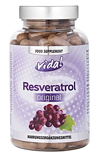 Resveratrol: Das Originale Trans-Resveratrol & Beste Qualität (60 Kapseln)