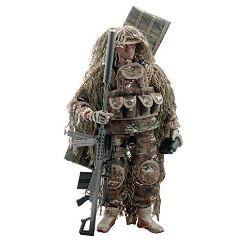 1.6 Ee Uu Soldado Todo Terreno De Accion De Francotiradores Figura 12 Pulgadas