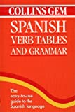 Spanish Verb Tables and Grammar (Collins Gem) (Collins Gems)
