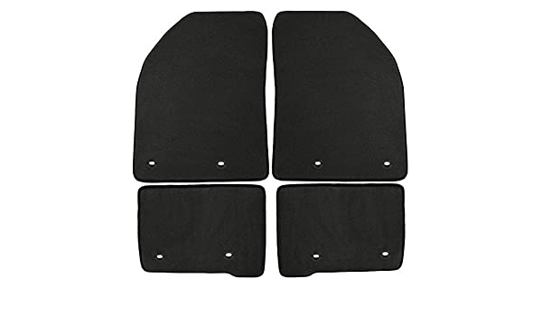 GGBAILEY D3501A-F2A-BLK/_BR Custom Fit Automotive Carpet Floor Mats for 1988 1989 1991 Jaguar XJS Convertible Black with Red Edging Driver /& Passenger 1990