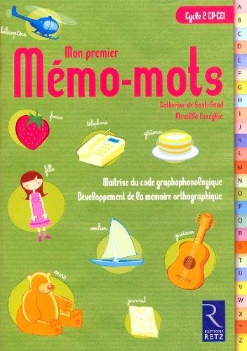 Mon premier Mémo-mots Cycle 2 : Pack 6 exemplaires