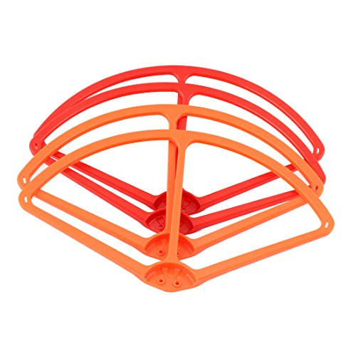 22,9 cm Propeller Guard Bumper Rot Orange für DJI Phantom 2 Vision