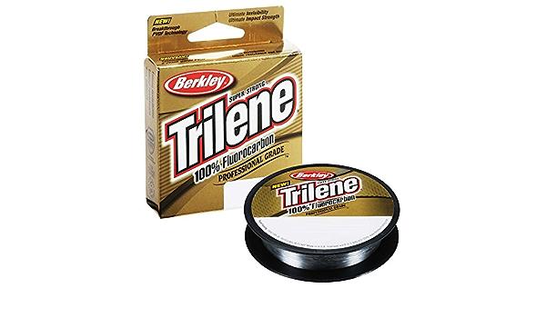 100/% Fluorocarbon XL 0.14 100m Clear Berkley Trilene