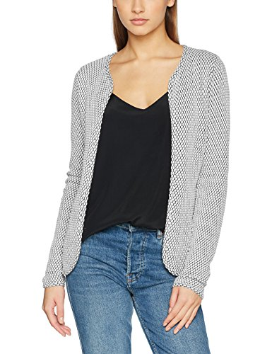 ONLY Damen Strickjacke Onldiamond Cardigan Jrs, Weiß (Cloud Dancer Cloud Dancer), 36 (Herstellergröße: S)