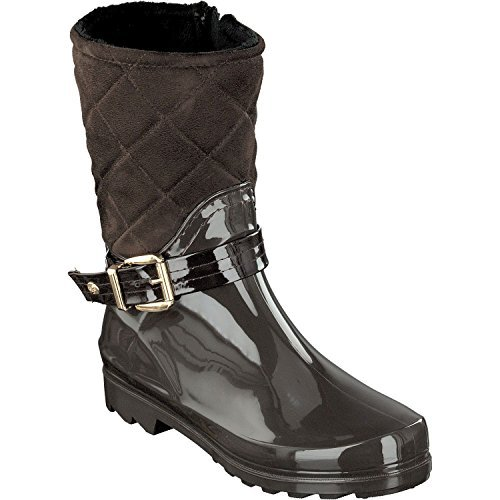Gosch Shoes Sylt - Ladies Booties Wellies 7102-502-9 Half Shaft Padded