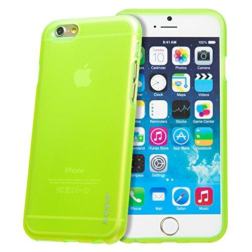 Juppa® Apple Iphone 6 Plus 5.5 Zoll TPU Silikon Tasche Hülle Schutzhülle mit LCD displayschutzfolie und Mikro-Reinigungstuch (Rosa / Pink) Grün / Green