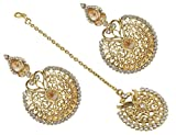 Muchmore Gold Plated Crystal Made Chande...