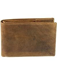 Visconti Leder Travel Wallet mit RFID Betrug Schutz & Eingabestift–Jet 726Öl Tan