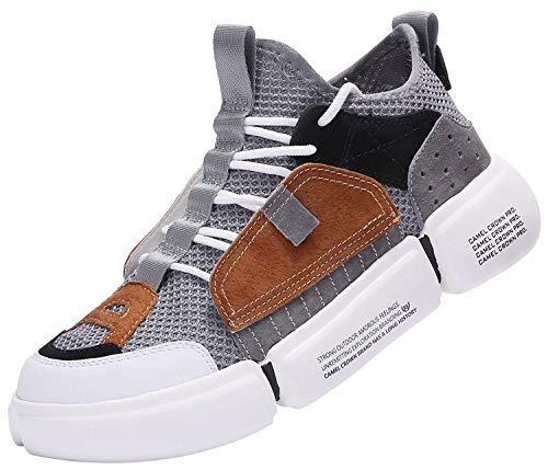 super popular e62e0 cb69e CAMEL CROWN Zapatillas de Running para Hombre Zapatos de Deporte Correr  Athletic Cordones Sneakers Casuales Moda