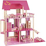 howa - Casa de muñecas con 22piezas de mobiliario 70102