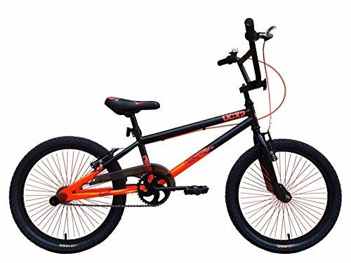'Tiger UCX2Frame High Tensile Strength BMX Bikes 20(Black/Orange)