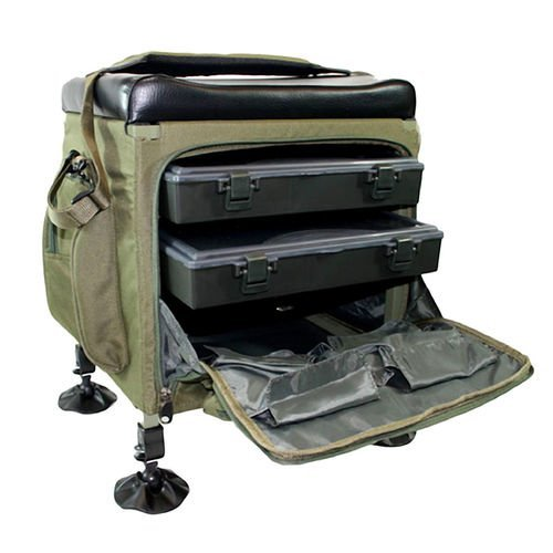 Stealth-Angler-Classic-Fishing-Seat-Tackle-Box-Super-Light-Stalking-Seat-Kit