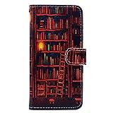 Chreey Coque pour iPhone X/iPhone XS, Étui de Protection Housse en Cuir PU Portable...