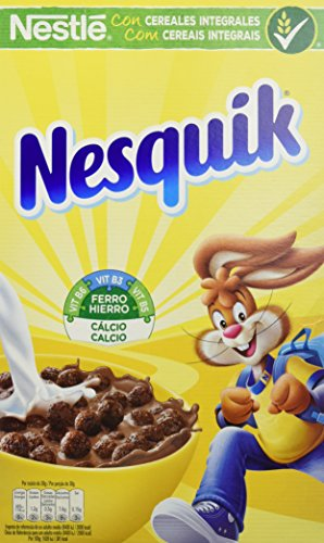 Nesquik - Cereales con Chocolate - Pack de 2 x 625 g