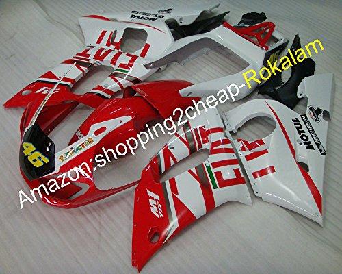 46 Yzf600 R6 ABS Ensemble de Carénage pour Yzfr6 1998 99 00 01 2002 Yzf-r6 Moto Marché kit de pièces (Moulage par injection)