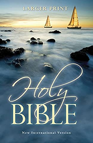 Larger Print Bible-NIV (Thickers Letters)