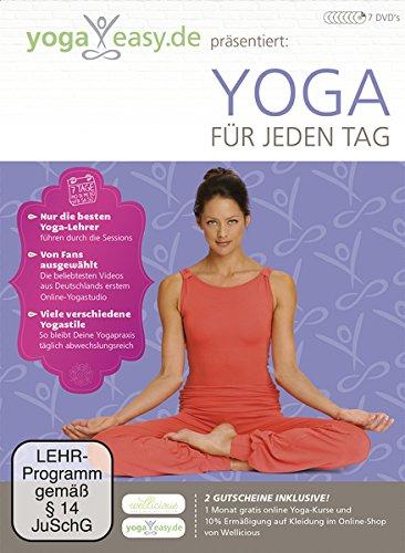 Yoga Easy - Yoga für jeden Tag [7 DVDs]