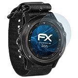 atFoliX Schutzfolie kompatibel mit Garmin Tactix Bravo Folie, ultraklare FX Bildschirmschutzfolie (3X)