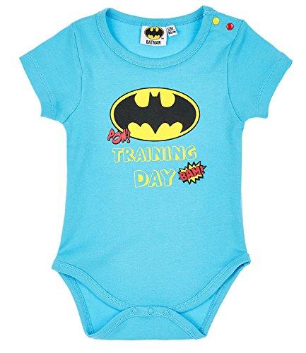 Batman Babies Boys Body - blau - 3M