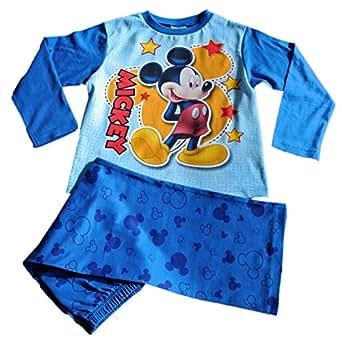 Disney Mickey Mouse Pyjamas 1 2 3 4 5 Years W14 (2-3 Years)