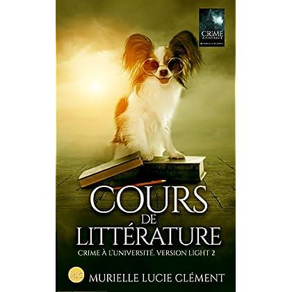 Cours de littérature: Crime à l'université * Version light 2