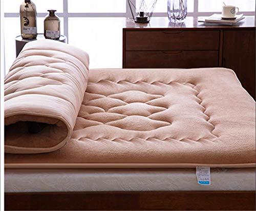 Tp&dd flanella materasso,traspirabilità single doppia materasso tatami.per dormitorio studentesco soggiorno-e 180x220cm(71x87inch)