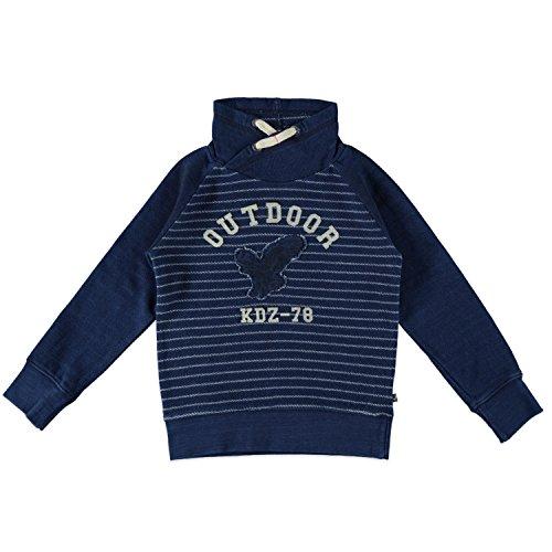 Kidzface Babyface Kinder Boys Sweatshirt Jungen Sweater in Blue Denim (122/128) Boys Blue Denim