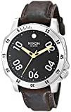 Nixon Herren Uhr Ranger Leather - Black / Brown