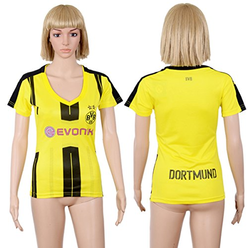 Custom Football Jersey Dortmund F.C Personalised Women Home Jersey DIY Soccer Jersey with any name and numbers
