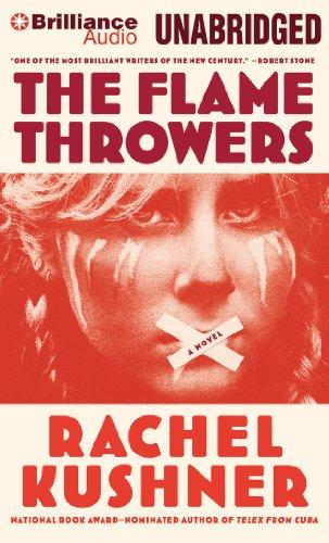 Buchseite und Rezensionen zu 'The Flamethrowers' von Rachel Kushner