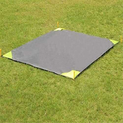 Giow Kleine Ballteppich, wasserdichte Stranddecke, tragbare Picknick-Matte für Camping, Picknick-Matratze, 140 x 200 cm 140X220CM B